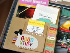 Scrap Your Stash: Disney SNAP + Project Life  by NancyDamiano