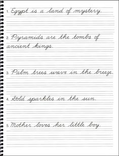 Cursive Writing Practice Sentences | DN Cursive: Halloween ...