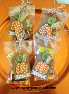 cute little cello treat bags