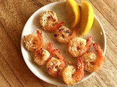 Grilled Garlic Parmesan Shrimp