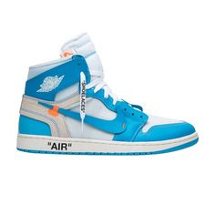 081aefc74dc Shop OFF-WHITE x Air Jordan 1 Retro High OG  UNC  - Air Jordan on GOAT. We  guarantee authenticity on every sneaker purchase or your money back.