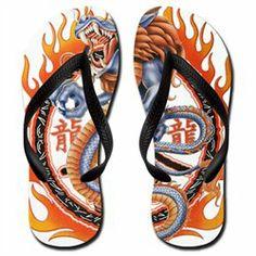 #Artsmith Inc             #ApparelFootwear          #Women's #Flip #Flops #(Sandals) #Dragon #Ring #Flames                        Women's Flip Flops (Sandals) Dragon in Ring of Flames                                                   http://www.snaproduct.com/product.aspx?PID=8094746