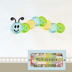 Studio MCA Designs - Caterpillar Applique