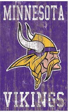 Give your home décor all-star appeal with this Minnesota Vikings wall art. Minnesota Vikings Wallpaper, Nfl Vikings, Minnesota Vikings Football, Best Football Team, Football Art, Cool Cheer Stunts, Viking Wallpaper, Mushroom Wallpaper, Viking Logo