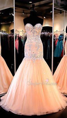Prom Dress 2016,Mermaid Prom Dress,Pink Prom Dress,Beautiful Prom Dress,Cheap Prom Dress