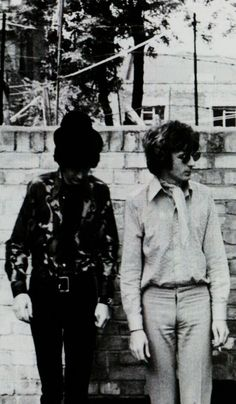 Nick Mason and Rick Wright, Pink Floyd
