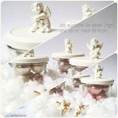 DIY Einmachglas Engel