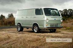 66 chevy van