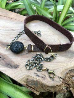 Essential Oil Lava Stone Wrap Bracelet