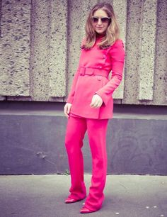 Natasha Pearlman, Deputy Editor:    Gucci trouser suit and boots