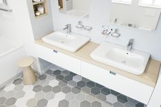 KLUDI OBJEKTA badkamer met éénhendel wastafel mengkranen - 321260575.