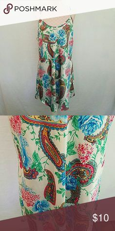 Pretty in paisley Pretty nightgown in paisley.  Chemis style. romantic moods Intimates & Sleepwear Chemises & Slips