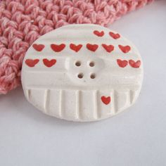 Ceramic Button  Red Hearts  Valentine's Day by siennaorlando, $4.00                                                 youtube to mp3