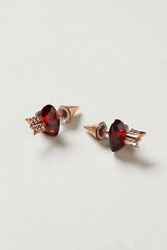 Cupid's Arrow Earrings, posts - (Valentine's Day, jewelry, gift) anthropologie.com