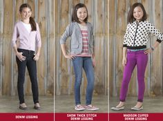 Signature by Levi Strauss & Co.™ has all the denim a stylish girl could dream of!