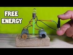 Free Energy Light Bulbs - Using Piezo Igniter - YouTube