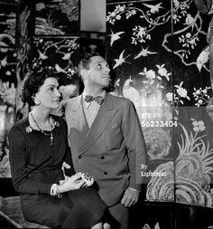 News Photo: Coco Chanel French couturier and Fulco di Verdura…
