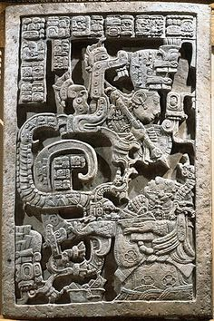Blood-letting Serpent Rituals of the Maya