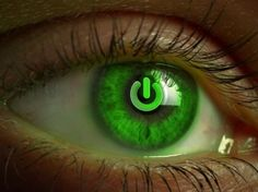 A beautiful picture of #Abstract #Eye Green With Stop Sign Wallpaper downloaded from http://alliswall.com