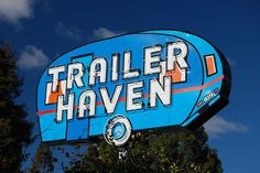 Vintage Trailer Haven neon Sign - Located ?
