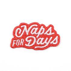 Naps for Days Mini Sticky Patch
