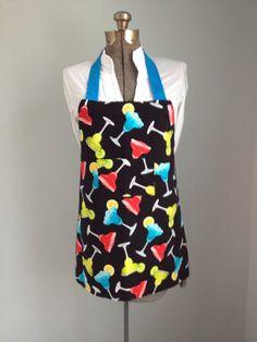 Margarita themed apron by pinklilypadbags on Etsy, $22.00