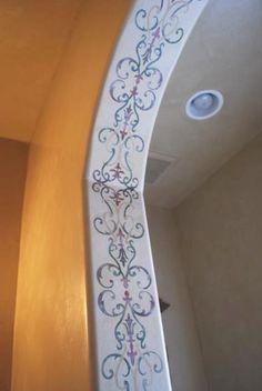 8 Best painted wall borders images | Bedrooms, Child room, Teen Bedroom
