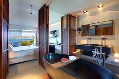 Diseño interior Christopher Cama Hotel Cuarto de baño Dormitorio Habitación Diseño