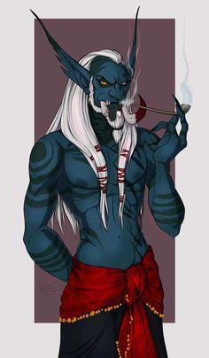Captain T'saij. by MonsterMyrr on DeviantArt