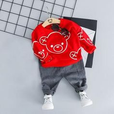 Dress your little boy with this fashionable outfit made with the best cotton and finest polyester and is very breathable to wear. Valentines Outfits, Happy Valentines Day, Dance Outfits, Boy Outfits, Billy Bear, Red Fashion, Fashion Outfits, Heart Day, Bad Boys