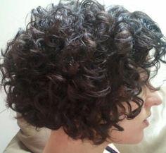 Pic 1 side.  new haircut, new curls - CurlTalk