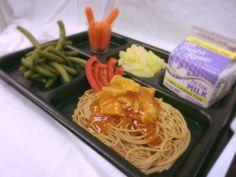 Mandarin Orange Chicken with Asian Noodles made with Mandarin Orange Sauce Mix (V428) and Asian Noodle Seasoning (S141)
