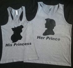 Disney The Little Mermaid Eric and Ariel Couples Shirts from 4ever Big Red Creations. Saved to My things.
