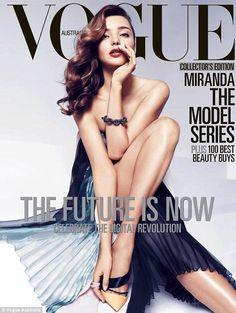 Miranda Kerr For Vogue Australia - April 2013