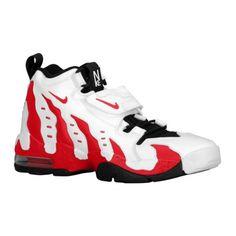Shoe 10: Nike Air Diamond Turf Max 96 White Varsity Red