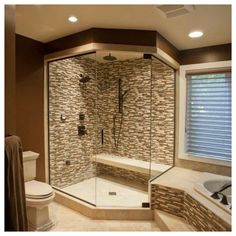 Master Bath Layout, Small Master Bath, Small Bathroom Layout, Small Bathroom With Shower, Master Bathroom Shower, Shower Walls, Shower Curtains, Bathroom Ideas, Shower Tile Designs