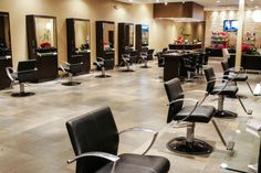 Let A & A Design Center Help you Find your dream salon like this salon. Designed by David Brown with A & A Beauty Supplies and Design