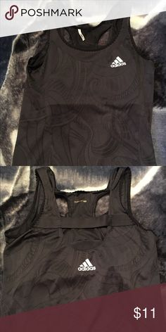 Adidas Climacool Women's Workout Top This is a size S/M, comes with a built in bra as well. :) Adidas Tops Tank Tops