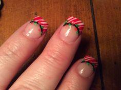 Christmas nails 2013.