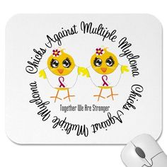 Shop Chicks Against Multiple Myeloma Mouse Pad created by chicktshirts. Multiple Myeloma, We Are Strong, New Employee, Ministry Ideas, Women's Ministry, Custom Mouse Pads, Stem Cells, Marketing Materials, Projects To Try