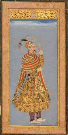 Sultan 'Abdullah Qutb Shah of Golconda. 1640 Deccan, India
