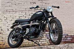 Scrambler motorcycle: Jack Pine