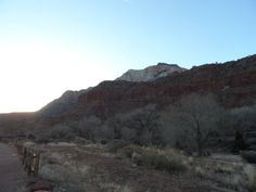 When the sun goes behind the mountains at Zion National Park, it can get cold fast.  The Lemonade Digest Blog