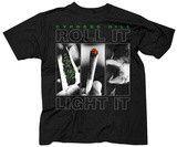Tshirt:Rap-Cypress Hill Roll It Light It