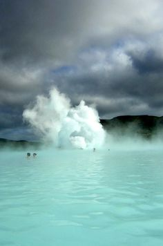 Blue Lagoon, Iceland--heard a lot about this place while I was on layover in Reykjavik airport on my way to London with my mom Places Around The World, Oh The Places You'll Go, Places To Travel, Places To Visit, Around The Worlds, Dream Vacations, Vacation Spots, All Nature, Future Travel