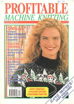 Profitable Machine Knitting Magazine 1991.12 Free PDF Download 300dpi ClearScan OCR