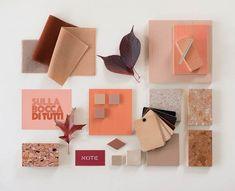 Design Bar en color coral de note design studio