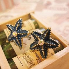 """Spotted while shopping on Poshmark: """"Adorable starfish earrings""""! #poshmark #fashion #shopping #style #Jewelry"""