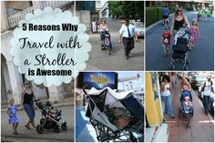 A stroller is often looked at as just another thing to lug when traveling with baby. But I'm countering that with 5 reasons to love travel with a stroller: