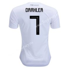 8cdef9ba61e 2018 World Cup Germany  7(Draxler)Home White Thailand Soccer Jersey AAA